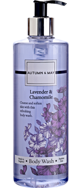 Lavendar & Chamomile Body Wash | Inline Health and Beauty