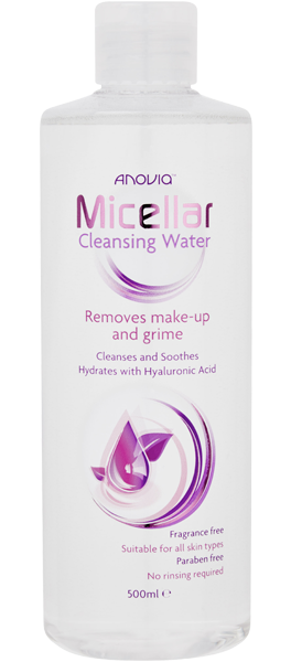 Anovia Micellar Cleansing Water Large | Inline Health and Beauty