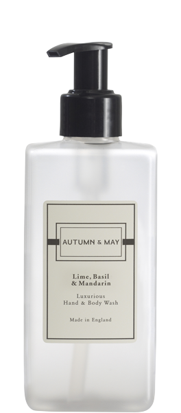 Lime Basil & Mandarin Hand Body Wash | Inline Health and Beauty